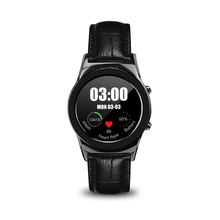 Full Round Steel Wristwatch Bluetooth Connected Smart Watch SIM SD Slot Heart Rate Monitor Smartwatch for Android Apple phone