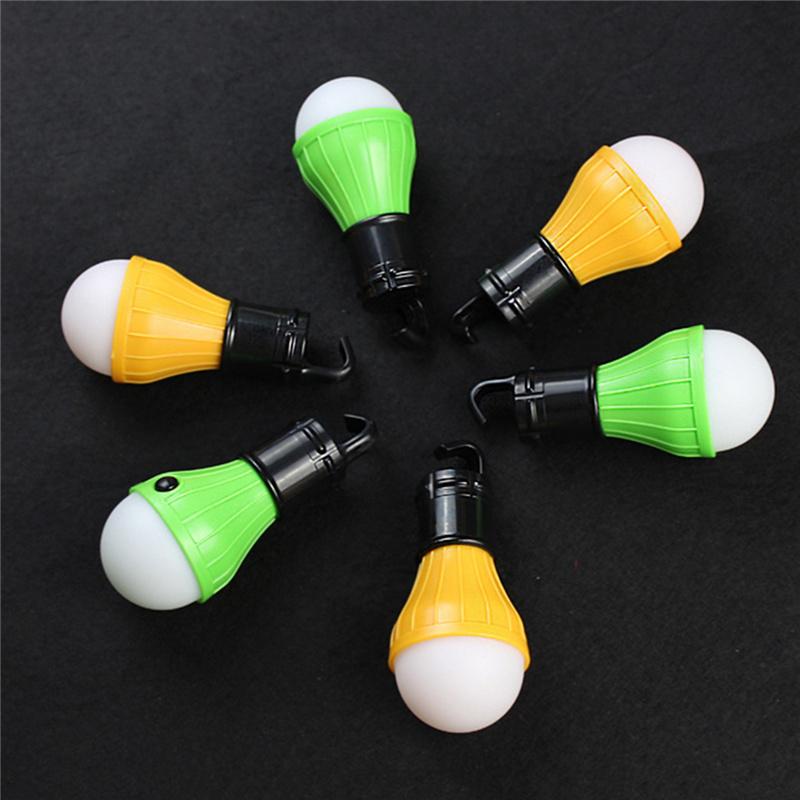 2016 Soft light hanging led lamp 3 mode adjustable portable battery camping fishing outdoor tent light bulb fishing lantern lamp(China (Mainland))