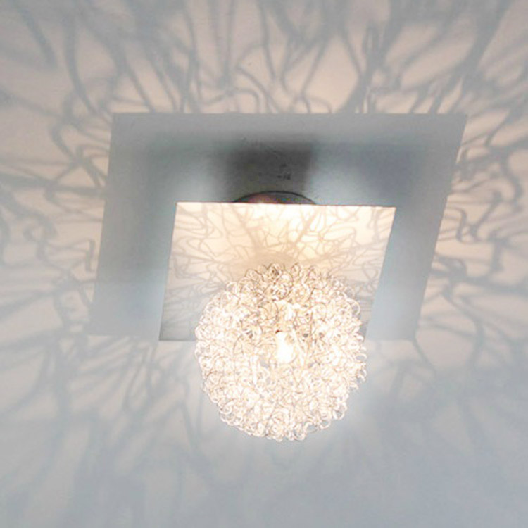 Modern Brief Fashion Aluminum Wire Balcony Ceiling Light Ceiling Light Console Lamps Dome Light(China (Mainland))