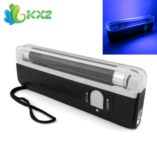 Handheld Portable Mini UV Flashlight LED UV Torch Light Lamp Violet Blacklight for Party Stage Dj Pet Money Verify(China (Mainland))