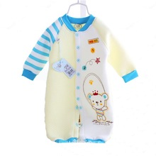 MY 6M/18M Full Season Newborn baby clothes girl jumpsuits Infantil boy clothing rompers cotton bamboo fibre Infant clothes(China (Mainland))