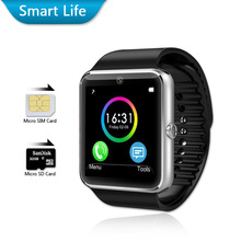 Bluetooth Smart Watch GT08 Android Waterproof SmartWatch Phone SIM Card Camera MP3 Fitness smart watches batter than DZ09(China (Mainland))