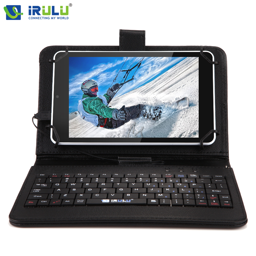 iRULU eXpro X4 7'' 1G+16G Tablet Android 5.1 Quad Core IPS Tablet PC Dual Cam 2MP Bluetooth WiFi 4000mAh with EN Keyboard Case(China (Mainland))