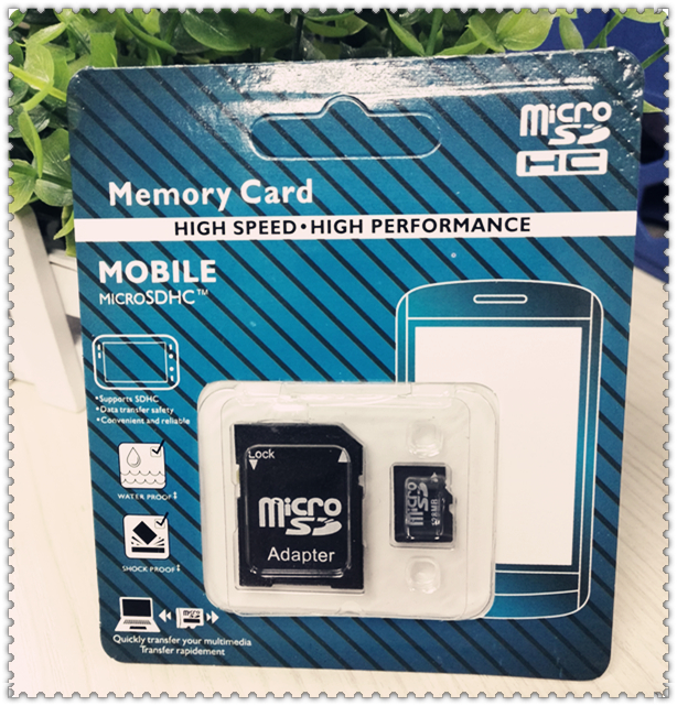 Class 6 Class 10 Micro SD card TF card Flash Memory Card Mobile Series SD card wholesale High performance Real capacity New(China (Mainland))