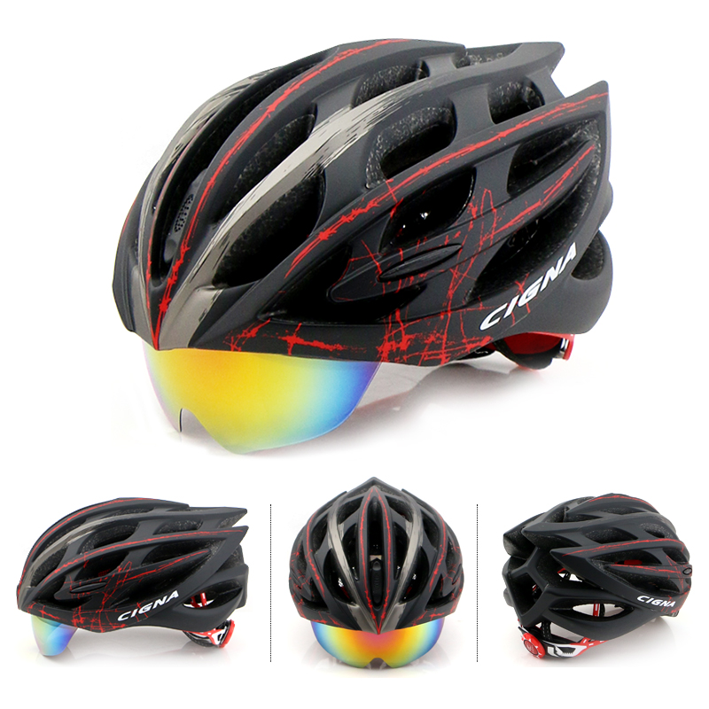 Lenses Cycling Helmet EPS PC Material Light Mountain Bike Helmet 32 Air Vents MTB Bicycle Equipment Casco Ciclismo New 2016(China (Mainland))