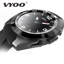 "New Arrivals VYOO N1 Smart Wacht MTK2502 128M+64M 1.2"" IPS Screen BT music Health SmartWatch Movement Phone Smart Watch Android(China (Mainland))"