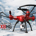 2016 New Model Syma X8HG Headless RC Airplane Quadcopter Wifi FPV with 8MP Camera 2 4