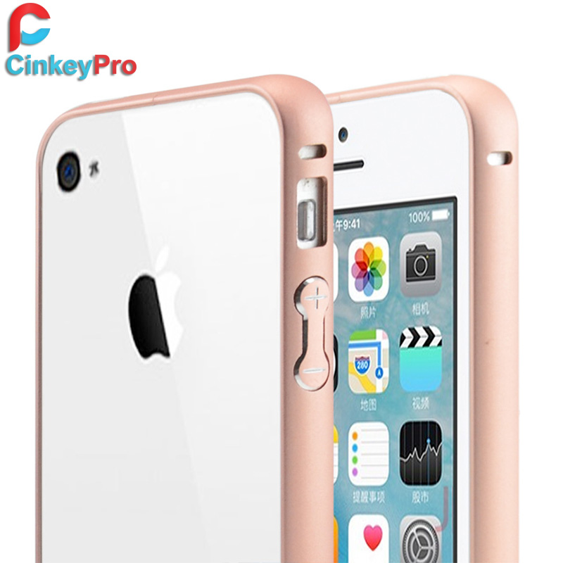 Brand New Metal Ultra Thin Frame Cover Call Phone Cases Protector Luxury Aluminum Bumper Case For Apple iPhone 4 4S 4G(China (Mainland))