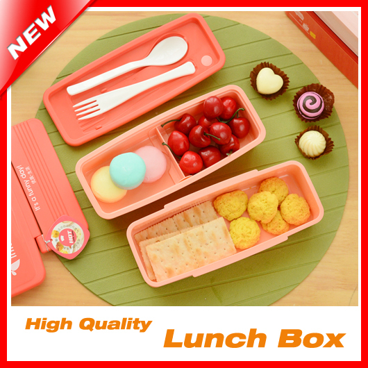 buy creative 2 layer bento lunch box for kids lunchbox food container thermos. Black Bedroom Furniture Sets. Home Design Ideas