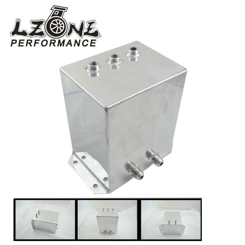 LZONE RACING- Universal FUEL surge tank&fuel cell&oil tank 6L for universal car model, mirror polished HQ. JR-TK44S(China (Mainland))