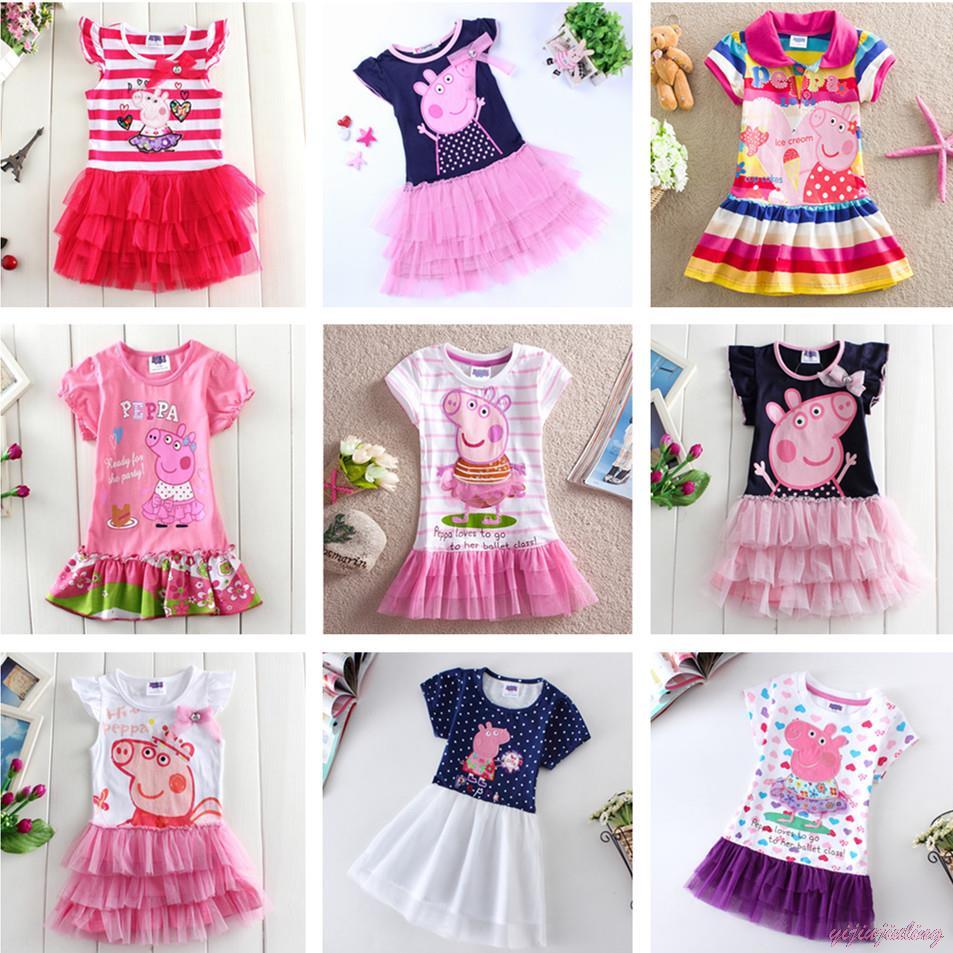 Гаджет  Girls Clothes! Pepa Pig Dress Girls Dresses Summer 2015 Cotton Dresses For Girl Tutu Pepa Clothing Kid Kids Piggy pigs None Детские товары