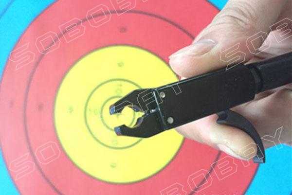 Strength Saving Hunting Archery Arrows and Bow Release for Shooting Compound Bow Outdoor Sport