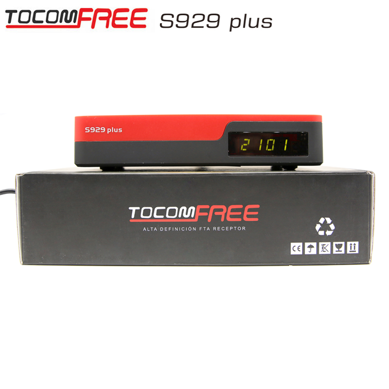 Tocomsat best iptv receiver TOCOMFREE S929 PLUS Full HD DVB-S2 conversor android tv Twin Tuner IKS SKS Chile brasil America(China (Mainland))