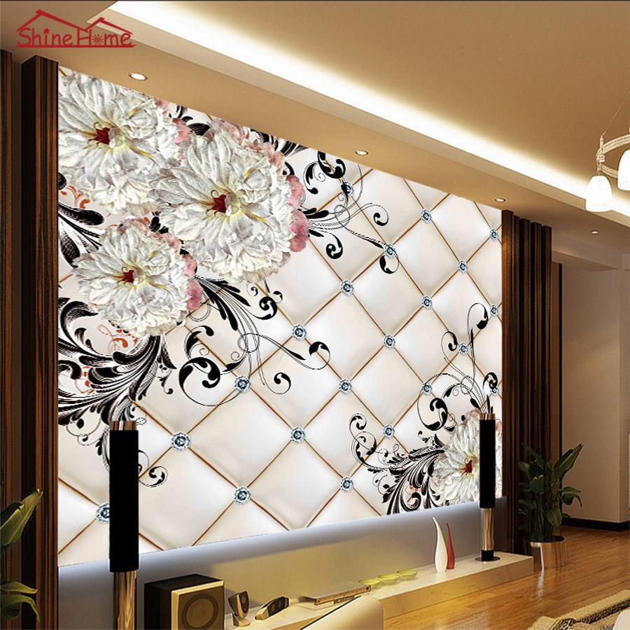 Online buy grosir bahan dinding bata from china bahan for Mural hitam putih