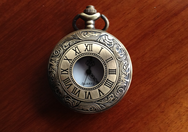Pocket watch vintage male women's child gift