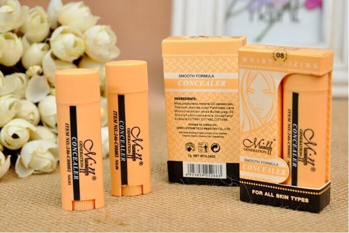 hot sale Concealer Make up scar cream cover spots eye concealer freckles blain black eye(China (Mainland))