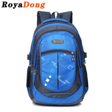 RoyaDong 2017 School Bags for Teenagers Boys Girls High Quality Children Students Backpacks Kids Nylon Backpack Child Book Bag(China (Mainland))