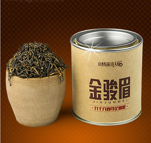 Гаджет  New 50g Per Tin Box Special Grade China WUYI Tongmu Guan Black Tea  For Health Free Shipping None Еда