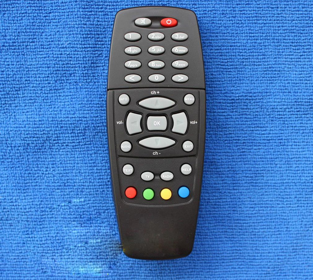 Black Replacement remote control for DREAM BOX 500 S/C/T DM500 DVB 2011 Version(China (Mainland))