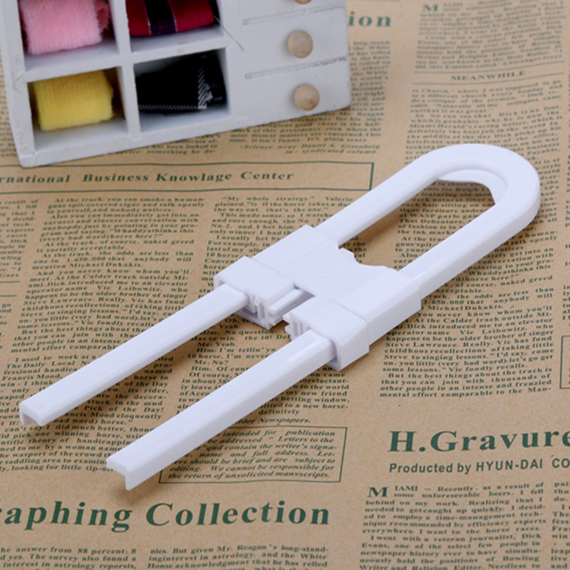 Cabinet Door Drawers Refrigerator Toilet Safety Plastic Lock For Child Kid Baby safety best deal 1pcs/lot  aqs04