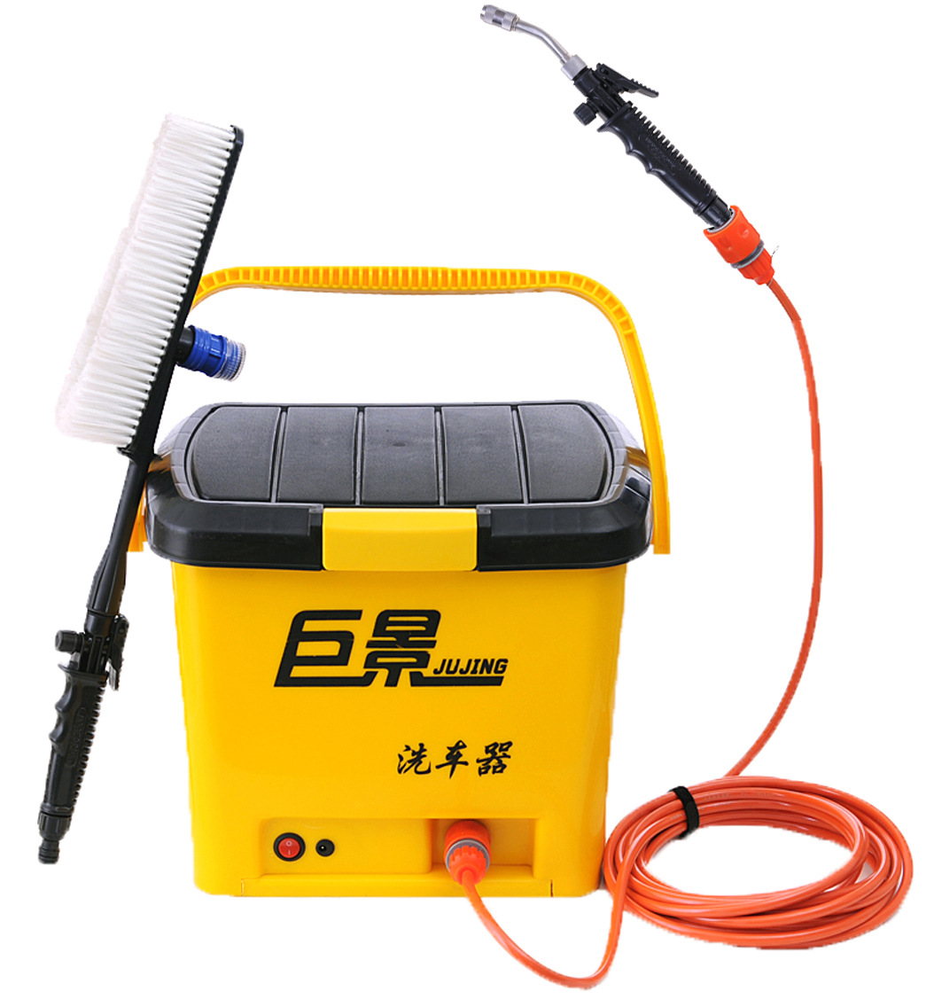 20L Electric Car Washer Metal Head Portable 12/220v Car Wash ABS Machine High Quality Car Wash Car / Home Use(China (Mainland))