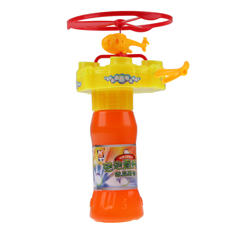 High Quality Bubble Gun For Kids Burbujas Helicopter Bubble toy Cool Gifts for Children brinquedos P4PM(China (Mainland))
