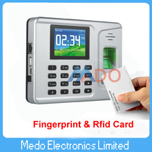 English Menu and Software Tcp/ip Fingerprint Time Attendance & Rfid Time Attendance Managment System(China (Mainland))
