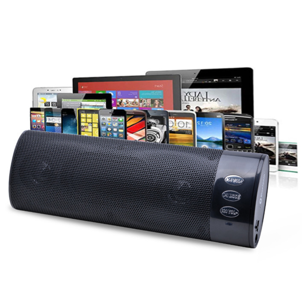 Bluetooth Mini Sound Box Subwoofers Wireless Bass Speaker Boombox With Removable 600mAh Lithium Battery LEVN 258B-Bl(China (Mainland))