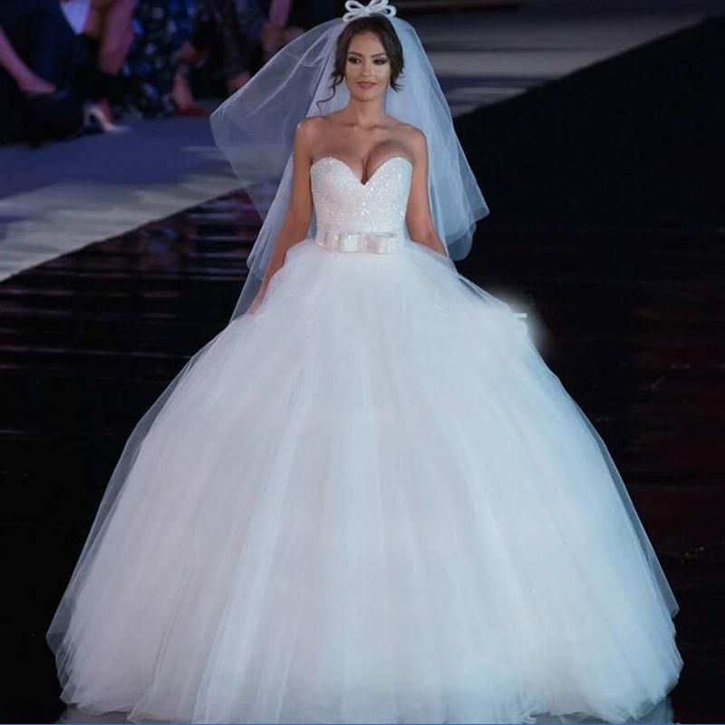Buy Gorgeous Wedding Dress Pearls Beading