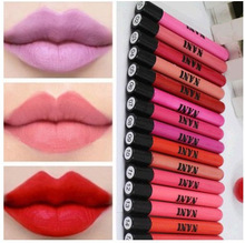 2015 New 15 Red Colors Velvet Waterproof Long-lasting Maquiagem High Quality Moisture Matte Makeup Lipstick Nude Lip Gloss
