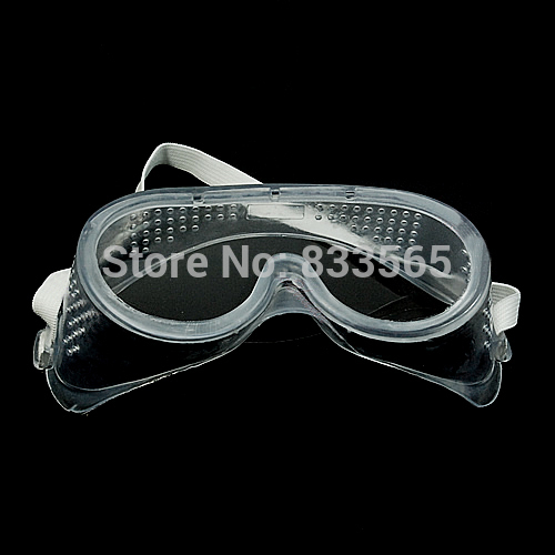 Гаджет  A24   Vented Safety Goggles Glasses Eye Protection Protective Lab Anti Fog Clear  L0755 P  None Безопасность и защита