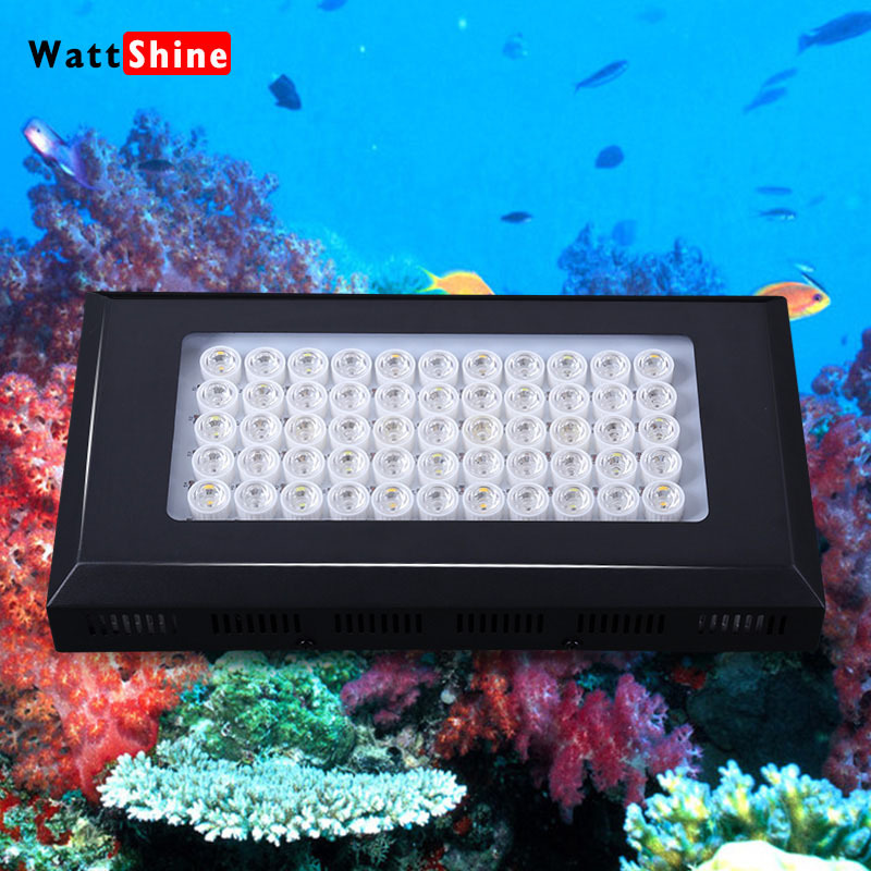 2015 Top Selling Dimmable 165W LED Aquarium Light Full Spectrum led aquarium lighting for coral reef stock in USA,UK,AU,EU(China (Mainland))