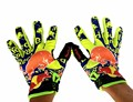Professional Motocross Red Full Finger Bull Gloves Motorcycle Guantes Touch Control Phone Luva Motoqueiro