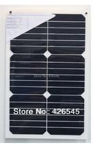 18 Вт Sunpower полугибкий солнечные панели для 12 В аккумулятор