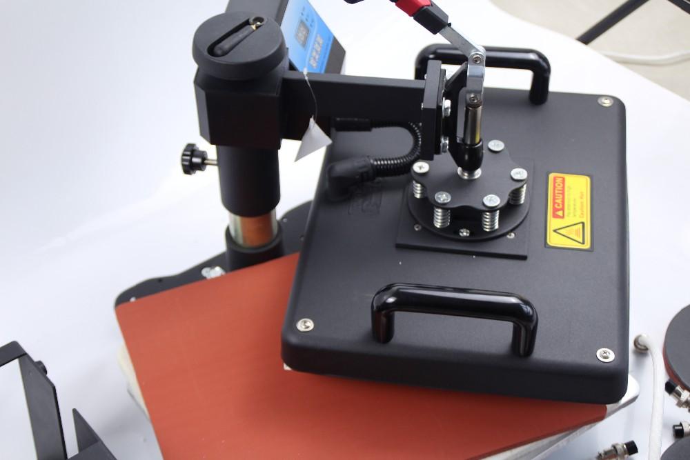 Купить Бесплатная Доставка 5 в 1 Сублимации тепло пресс-передачи машины для печати кружка плиты Футболка DX-305