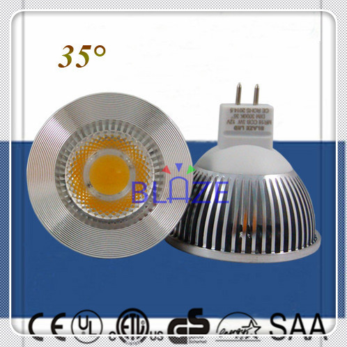 Wholesale 50pcs/Lot Dimmable 5W 6W COB Led Light Bulbs MR16 GU5.3 DC 12V lampe 2700K 3000K 6000K 35 degree Replace Halogen(China (Mainland))
