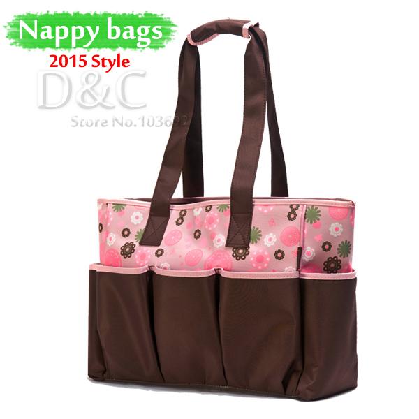 2015 Fashion Baby travel bag multifunctional baby diaper bags nappies bolsa maternidade maternity bags ladies shoulder bags tote<br><br>Aliexpress