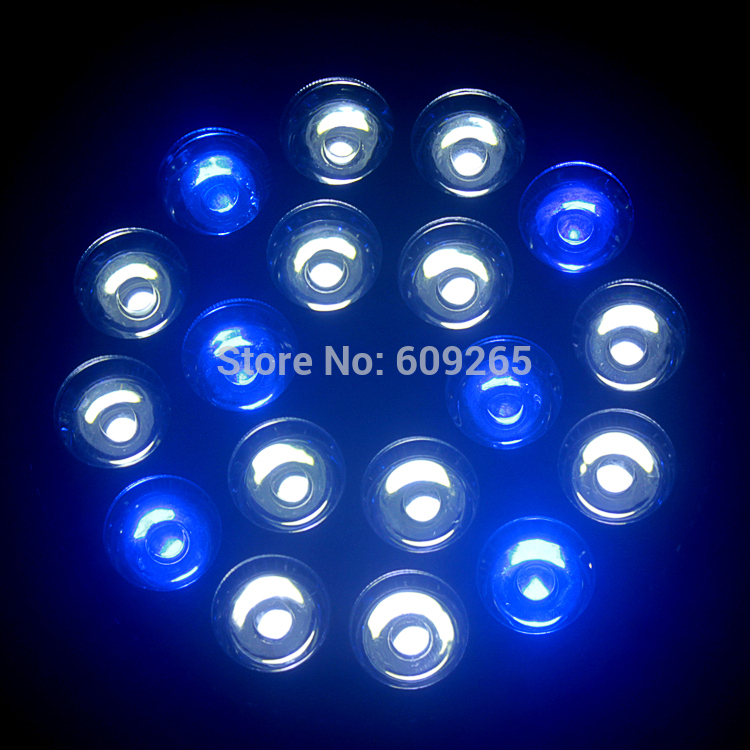 LED lights reef aquarium lights CREE E2754W LED Grow Light blue coral reef led bulbs hydroponic system(China (Mainland))