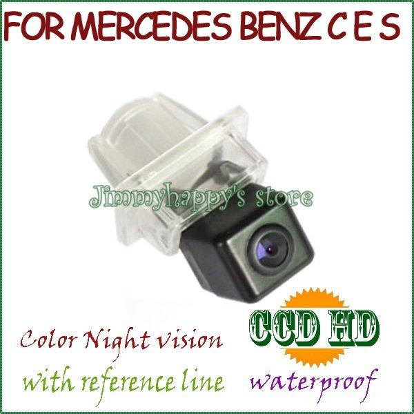 wireless wire Car Rear Camera Reverse Camera for Benz Mercedes C E S CLASS CL CLASS W204 W212 W216 W221 night vision(China (Mainland))