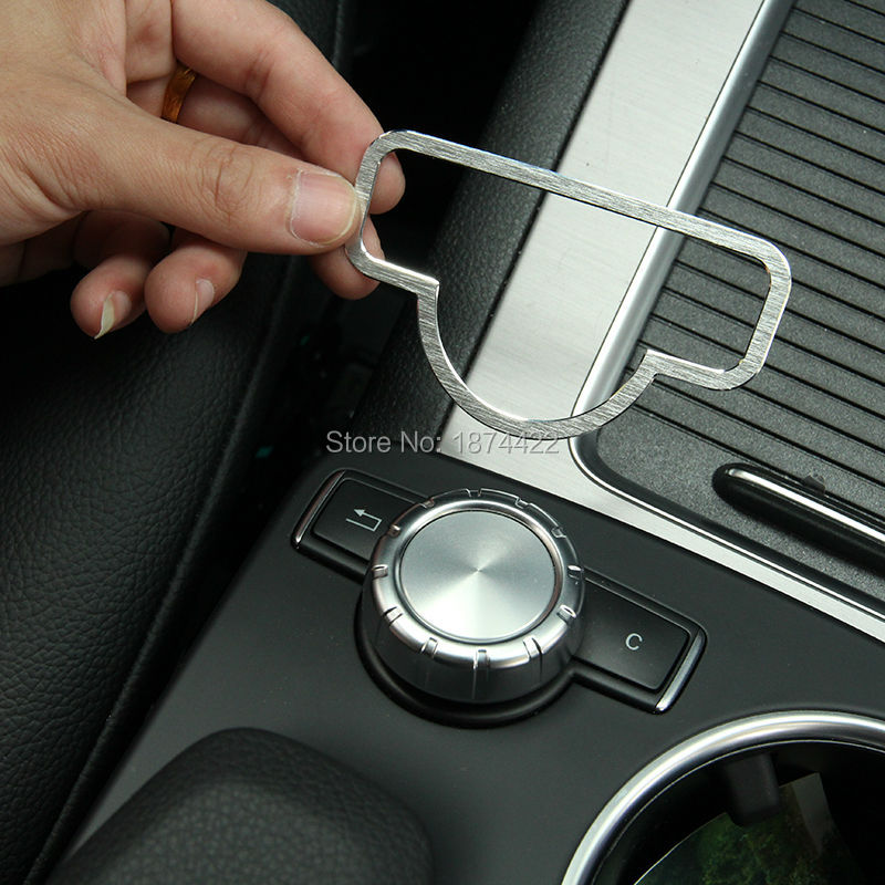 Buy stainless steel interior medio button for Mercedes benz accessories online store
