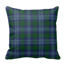 Ugly Traditional Sutherland font b Tartan b font Plaid Pillow Case Size 45x45cm Free Shipping