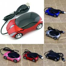 1600DPI Mini Car shape USB optical wired mouse innovative 2 headlights mouse for desktop computer laptop Mice Brand new(China (Mainland))