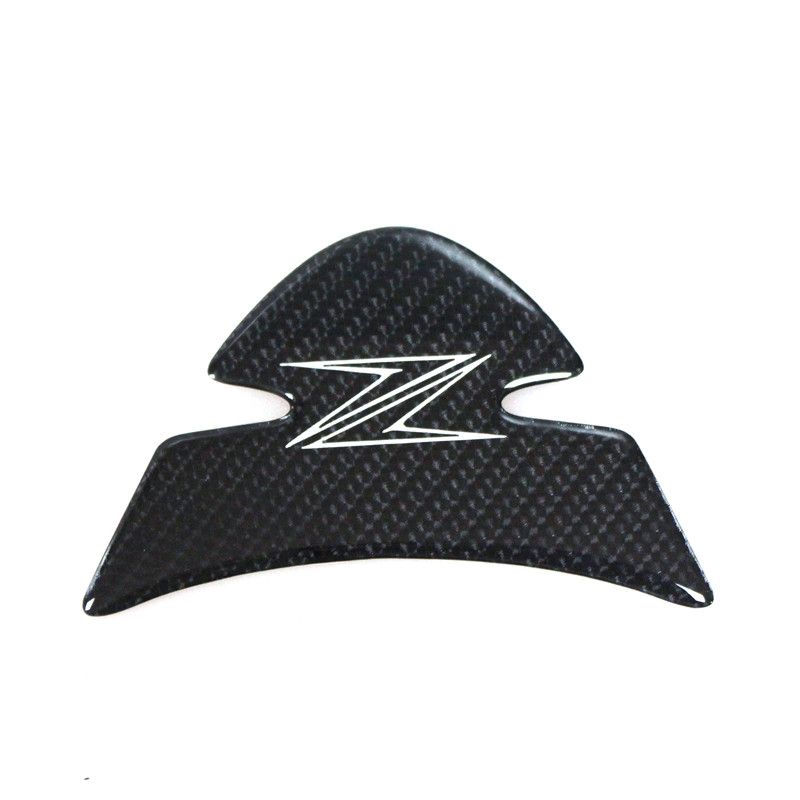 Free shipping! k-sharp Carbon 3D ADESIVI Sticker Decal Emblem Protection Tank Pad Gas Cap Fit KAWASAKI Z1000 2012-2015