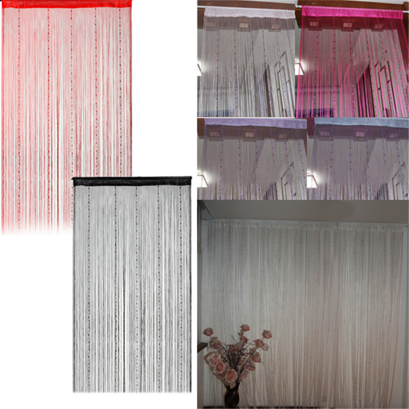 Country door curtains 2