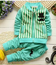 2015 new spring autumn Baby boy clothing sets products kids clothes set babi boys high quality cotton long sleeve t-shirts+pants(China (Mainland))