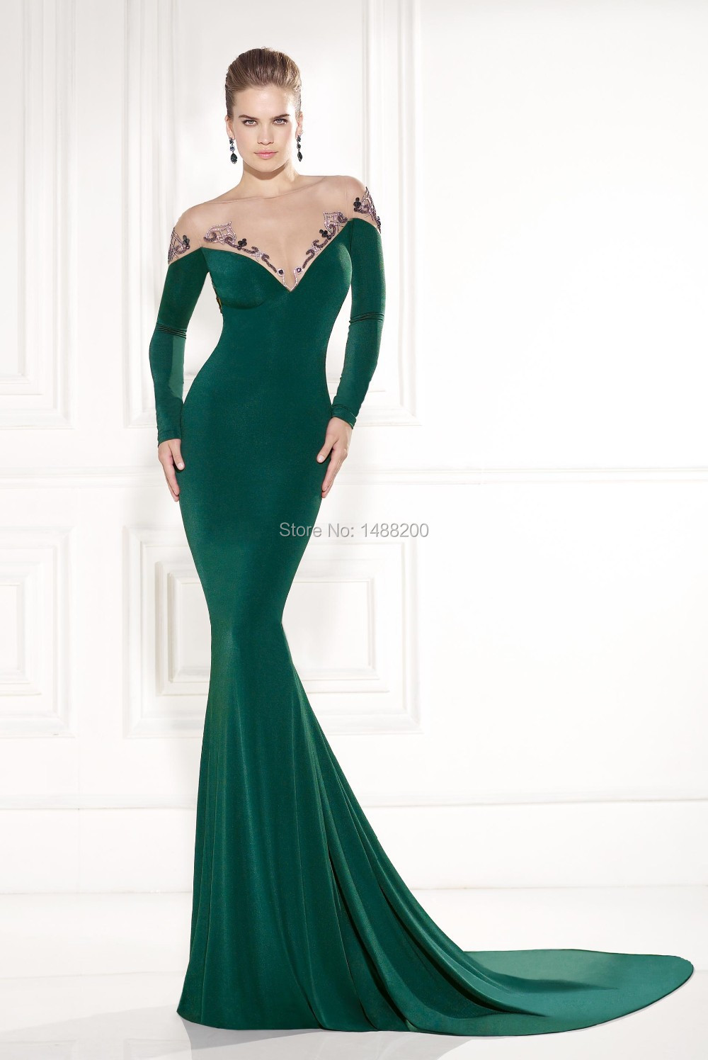 Compare Prices on Emerald Green Dress- Online Shopping/Buy Low...