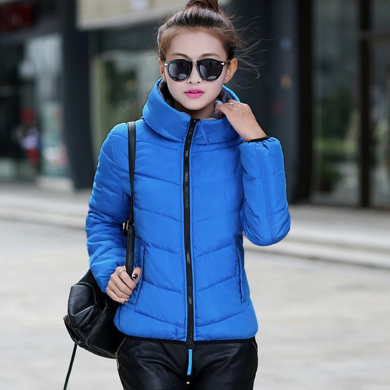Snow wear wadded jacket female 2016 autumn and winter jacket women slim short cotton-padded jacket outerwear winter coat women(China (Mainland))
