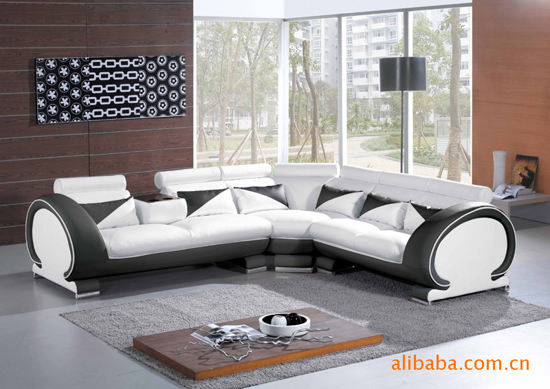 leather sofa set living room furniture in living room sofas from