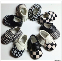 2016 new PU leather Baby Moccasins Soft Baby Shoes non slip first walker Footwear lovely baby