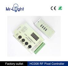 Hc008 программируемый rgb из светодиодов пикселей, Dc 12 В, 2048 pixel управления, 133 эффект режимы, Lpd6803 ws2811 ucs1903 чип